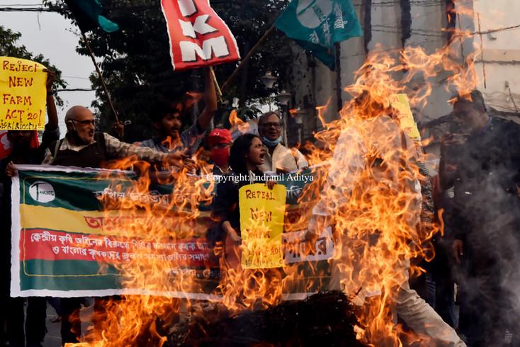 Farmers Protest In Kolkata