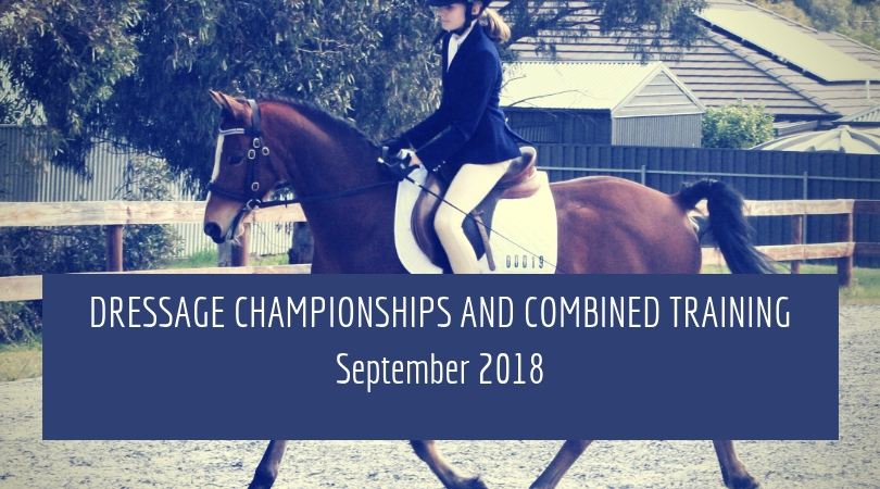 Dressage Chamionships and Combined Train