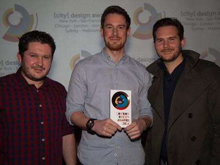 Foundations Pulse wins Gold at the London Design Awards