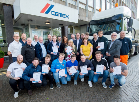 Talent in Logistics finalist among first to complete new LGV Standard