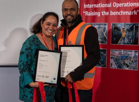 Royal Mail Celebrate the Graduation of Logistics Apprentices