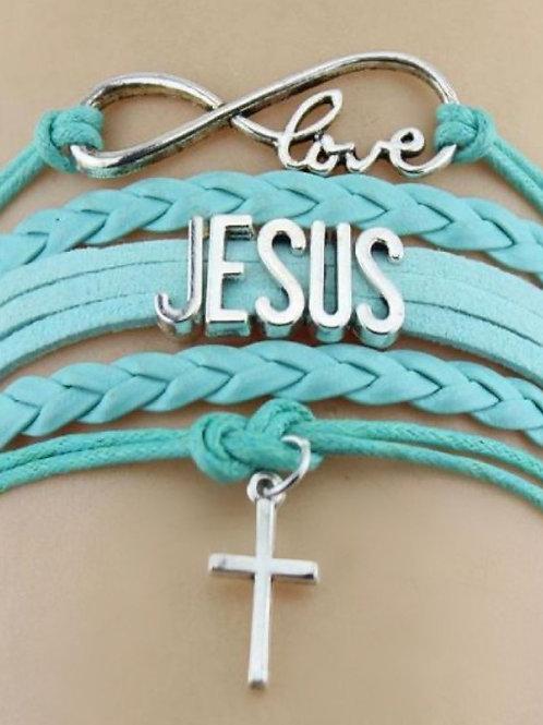 """""""LOVE JESUS"""" BRACELET"""