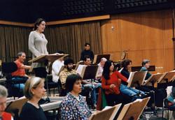 Rehearsing in Germany