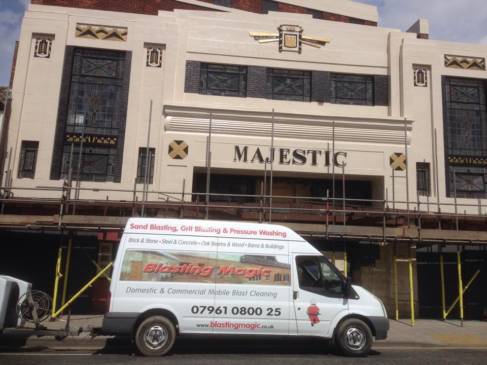 Majestic Darlington finished