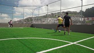 Retamo-Parc Futbol en terraza. QUITO-SUR