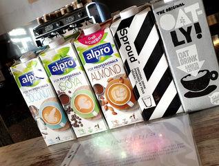 Milk, milk and more milk.....
