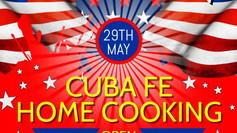 Cuba Fe Open this Memorial Day!