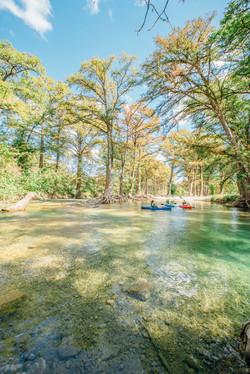 Kayaking at Peaceful Valley