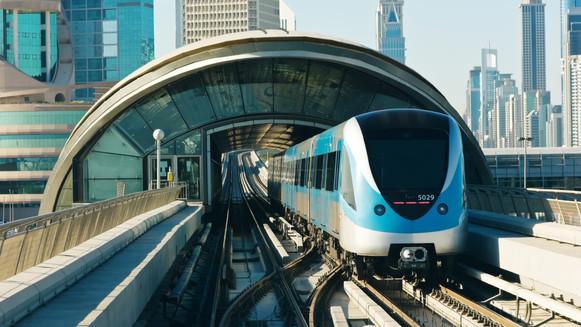 Dubai Metro Depots and Carparks