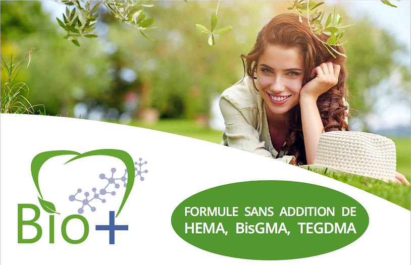 Sans addition de HEMA, BisGMA, TEGDMA