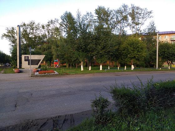Установка мусорных урн в рамках проекта СГУ