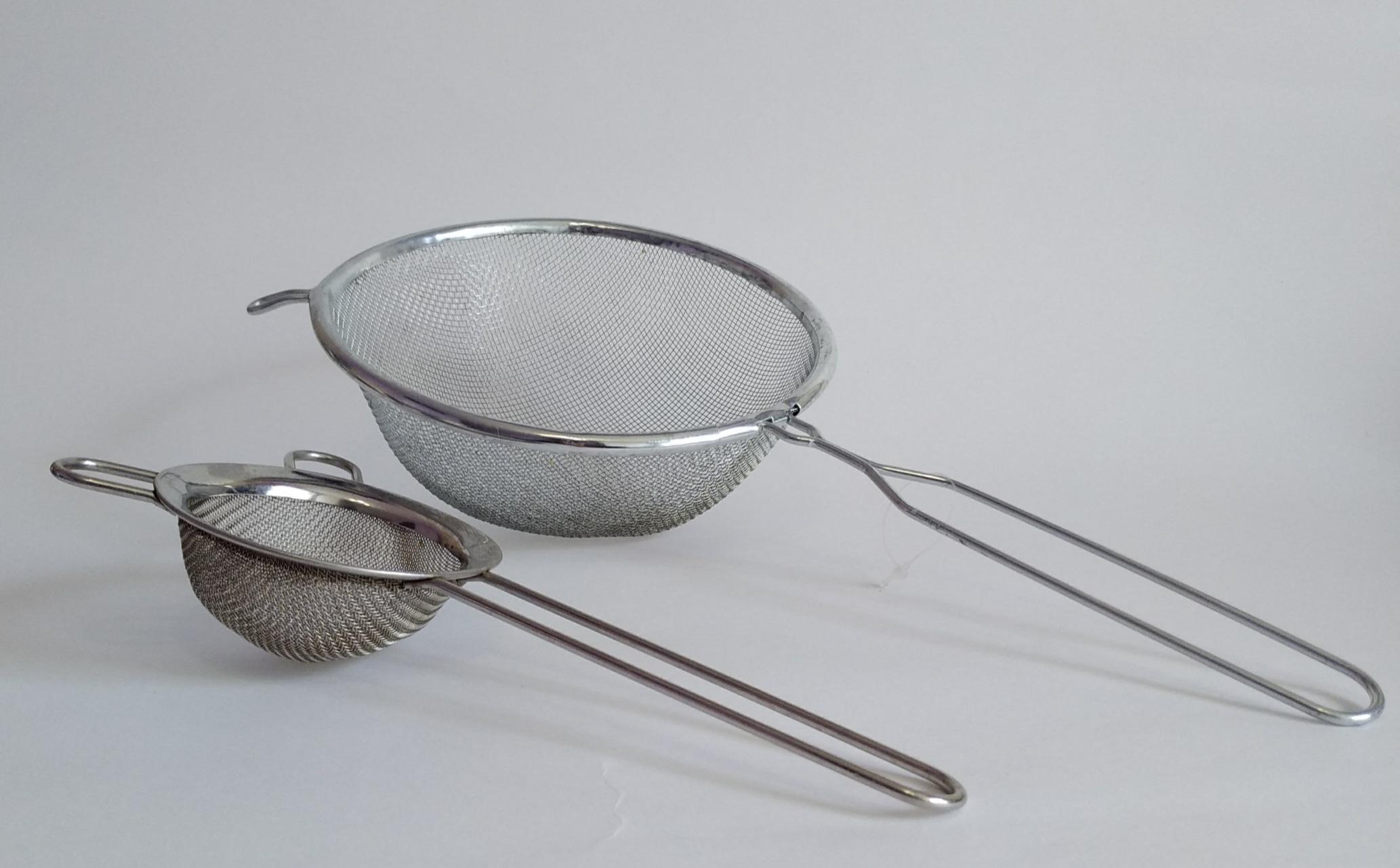 Металлическая кухонная утварь