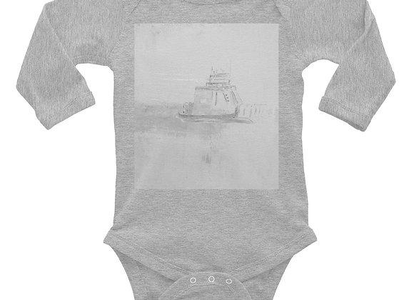 Infant Long Sleeve Drummond Island Ferry Onesie