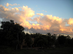 Sunset in Barrio San Roque