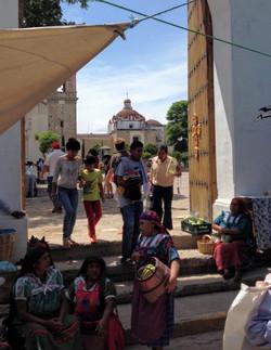 Market square in Tlacolula