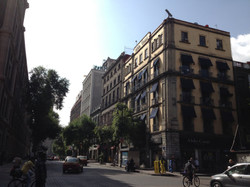 Historic downtown of Mexico City