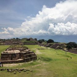 Monte Alban, Zapotec Ruins