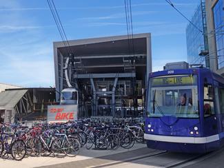 Bike to the train