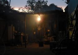 Casa Alonzo in the evening