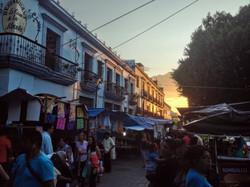 Zócalo during Guelaguetza
