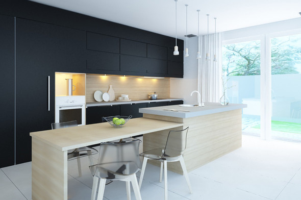 Kitchen 3D visualisation