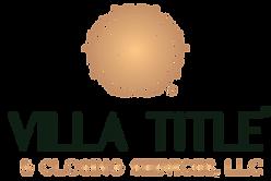 Villa Title Logo