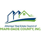 Attorney's Real Estate Council of Miami-Dade County, Inc. Logo green and blue