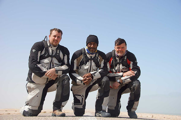 Thomas Woodrow - Travel buddies in Africa with Tom, Danny John Jules and Graham Hoskins