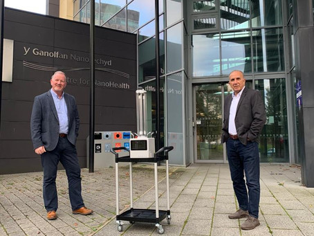 Swansea company helps fight the pandemic with automated disinfection robots