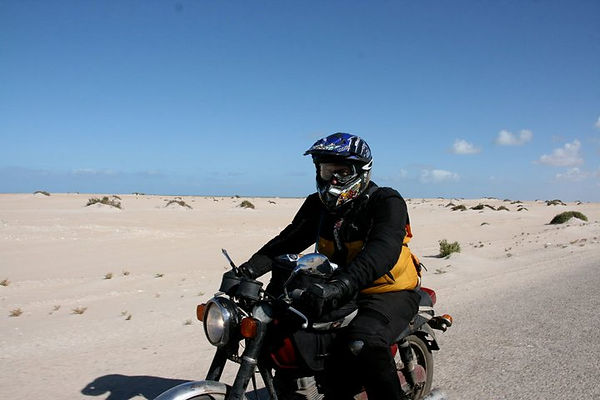 Thomas Woodrow - Desert Riding in Africa