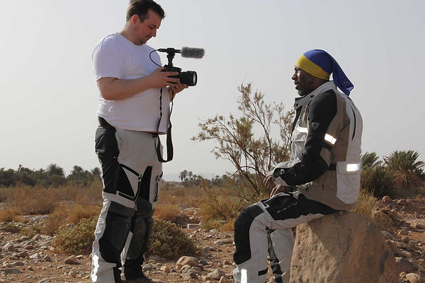 Thomas Woodrow - Filming in the Desert with Danny John Jules