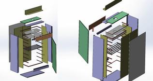 3D модель  сушильного шкафа