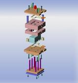 3D модель штампа