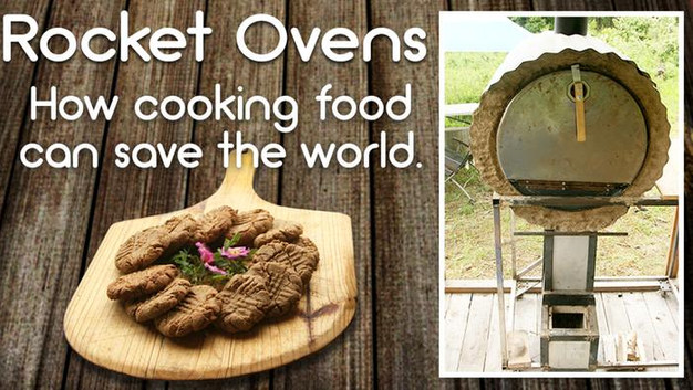 Use Rocket Stove Tech to Build an Oven