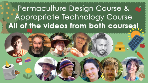 Permaculture Design and Appropriate Technology Course Videos