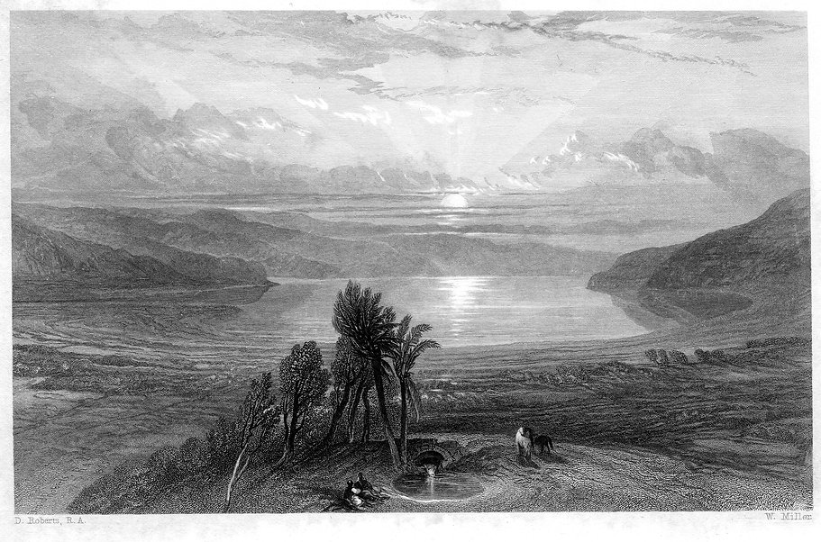 The_Dead_Sea_engraving_by_William_Miller