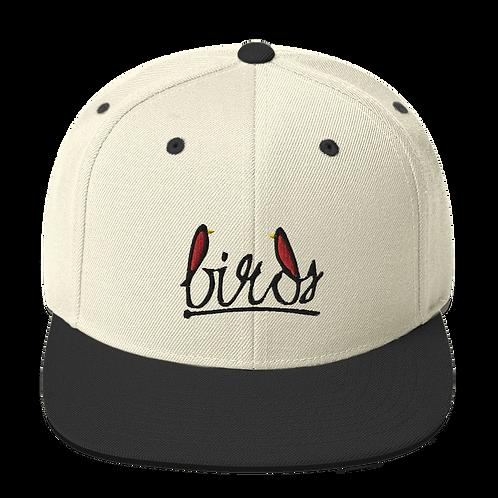 Birds black logo - Snapback