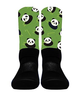 Pandas with Bamboo - Crew Socks