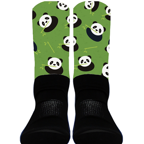Pandas with Bamboo - Crew Socks