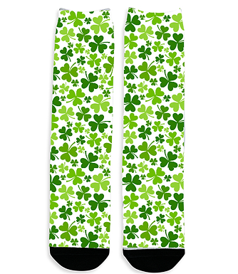 Shamrocks 2 - Dress Socks