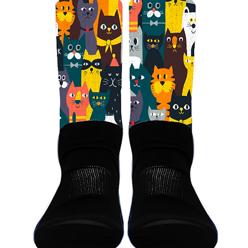 Bunch of Cats - Crew Socks