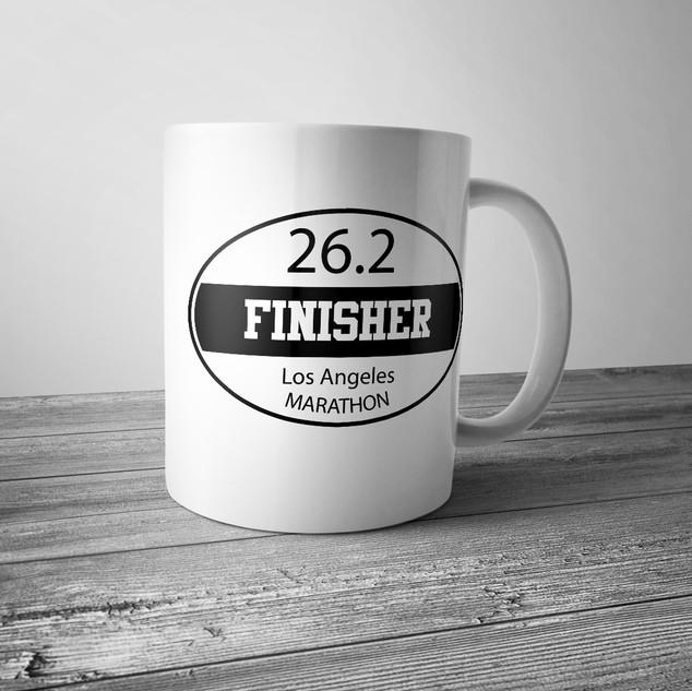 Marathon Finisher Mug