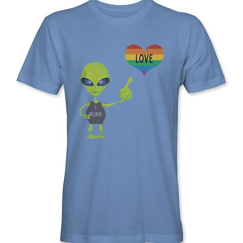 """Alien """"I Believe"""" in Love Pride"""