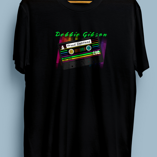 Debbie Gibson Mixed Tape Tee