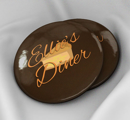 Ellie's Diner Button