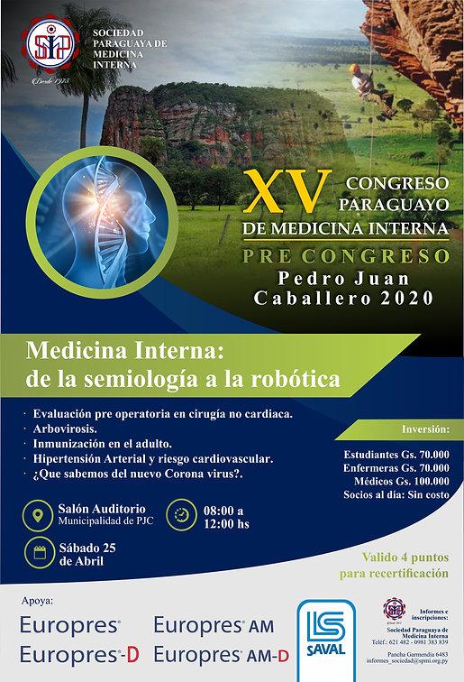 FLYER PJC Congreso Pyo de Medicina Inter