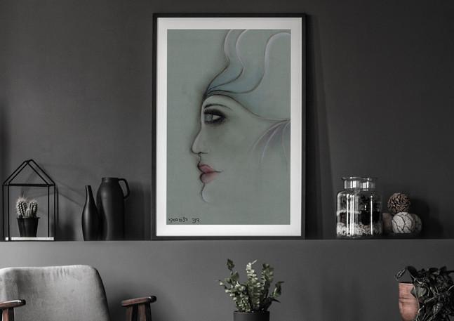 דינה דצקובסקי | רישום | אישה
