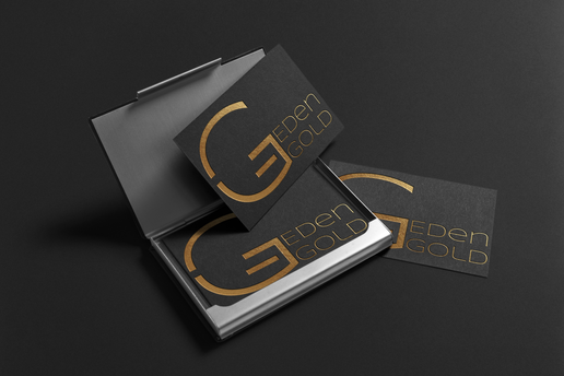 עיצוב לוגו עבור עדן גולד סוכנת ביטוח