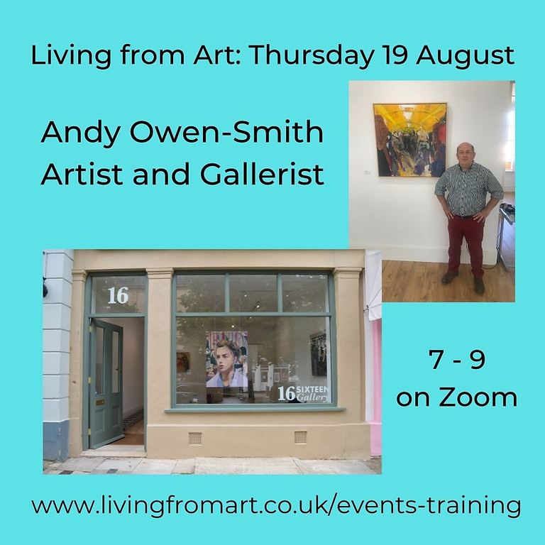 Living from Art: Andy Owen- Smith Artist and Gallerist