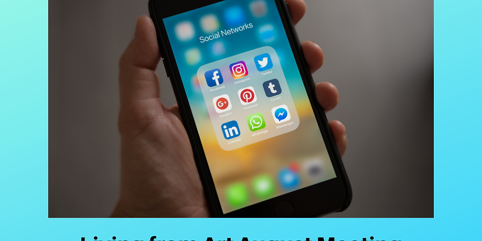 LfA August meeting online: Making More of Social Media